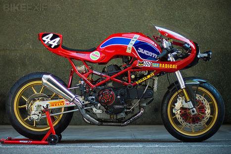 Radical Ducati Monster M900 | Ductalk Ducati News | Scoop.it
