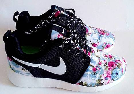 Purchase Cheap Nike Roshe Run London Olympics Trainers Flower Black Shoes | I found the Bags Home | Scoop.it