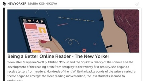 Being a Better Online Reader | Interesting Reading | Scoop.it