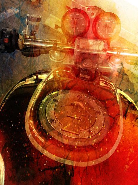 Ducati Motorcycle Art  | IronArtistFineArt | Etsy.com | Ductalk Ducati News | Scoop.it