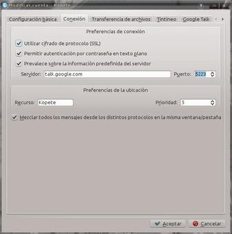 Configurar Google Apps en Kopete | Mente Leal | OSS | Scoop.it