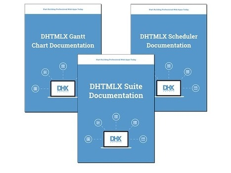 Gantt, Scheduler and Suite Documentation is Available in PDF   DHTMLX JavaScript UI Library   Scoop.it