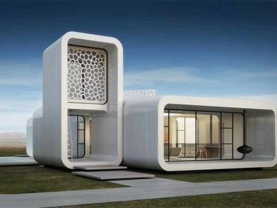 Dubai to build world's first 3D printed office | Innovative & Sustainable Building | Scoop.it
