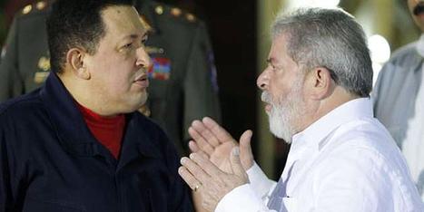 """""""Chávez debe empezar a preparar su sucesión"""", afirma expresidente Lula da Silva - Globovision   Un poco del mundo para Colombia   Scoop.it"""