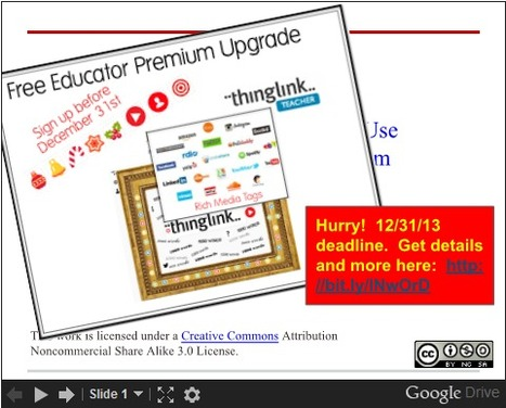 73+ Ways to Use ThingLink + Free Educator Upgrade thru 12/31/13 | Better teaching, more learning | Scoop.it