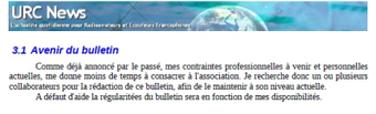 URC: A l'aide !   Ham Radio France   Scoop.it
