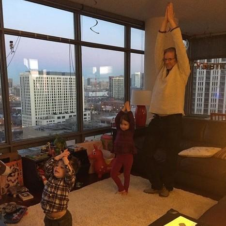 Teaching Grandpa tree pose! | Cosmic Kids Around The World! | Scoop.it
