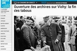 Seconde guerre mondiale : Ouverture des archives de l'Occupation et de l'épuration   Rhit Genealogie   Scoop.it