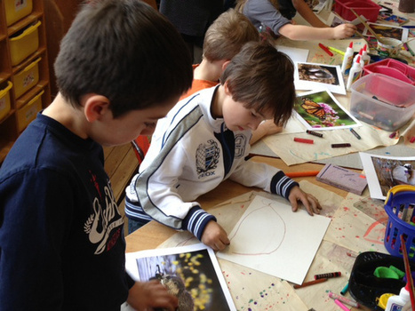 Art school program developing children's creative minds | kinderart | Scoop.it