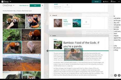 What Microsoft's Sway says about the future of Office | ZDNet | ICT tips en tricks | Scoop.it
