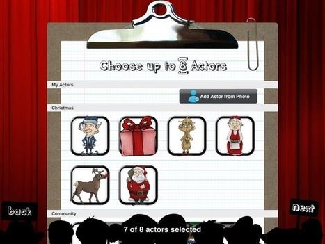 Puppet pals: Una aplicació per a crear i inventar històries | iPad classroom | Scoop.it