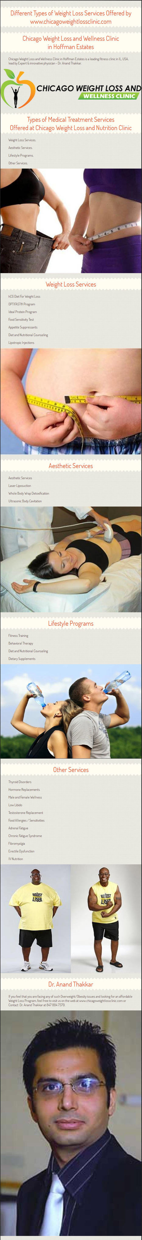Different Types of Weight Loss Services Offered by www.chicagoweightlossclinic.com | Chicago Weight Loss | Scoop.it