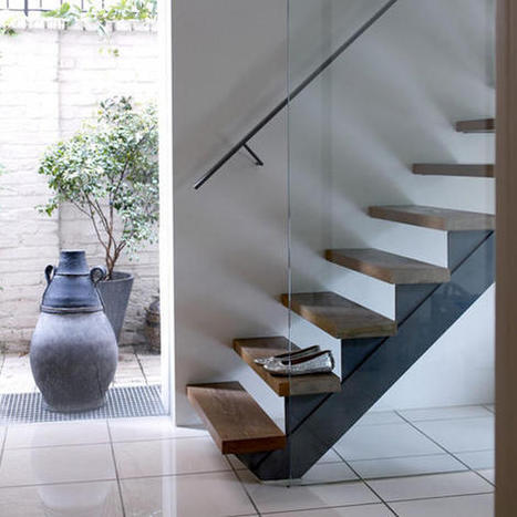 An Increasing Trend In Modern Homes Is The Floating Stairs | Homes-art.com | What's Interesting and Trending Around The Web, United States and The World | Scoop.it