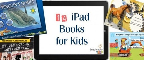14 New iPad Books for Kids « Imagination Soup   Fun Learning and Play Activities for Kids   Way to go iPads   Scoop.it