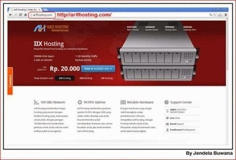 Arif Hosting Harga Murah dan Hosting Terbaik di Indonesia | Cipto Junaedy Real estate Business | Scoop.it