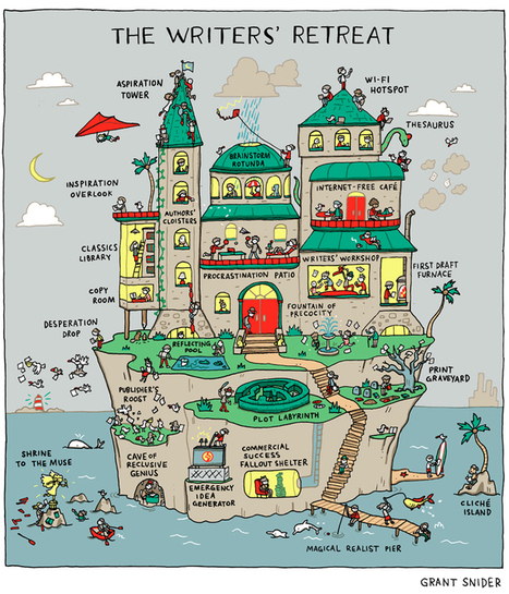 Grant Snider's guide to the perfect writer's paradise - | Research Capacity-Building in Africa | Scoop.it