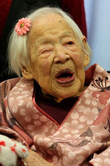 The World's Oldest Person Has Died in Japan | enjoy yourself | Scoop.it