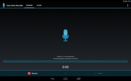Easy Voice Recorder – Android Apps on Google Play | Web 2.0 for Education | Scoop.it