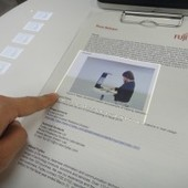 Fujitsu makes paper interactive with touchscreen interface | leapmind | Scoop.it