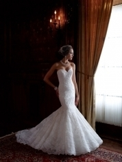 Mermaid Wedding Dresses - theLuckyBridal.com | unique wedding dresses | Scoop.it