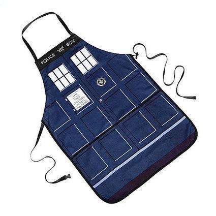 Tablier Tardis Doctor Who - Doctor Who, Geek | News geek | Scoop.it