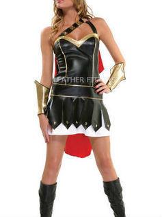Women Gladiator Leather Halloween Dress   Gladiator Leather Dress for Women   Celebration and traditions for Halloween   Scoop.it