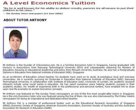 Econs Tutor   Econs Tuition   Scoop.it
