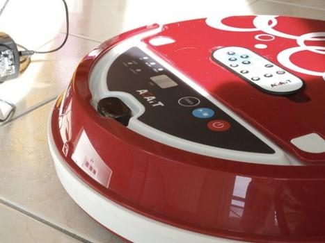 AGAiT Eclean EC01, le robot aspirateur qui fait le ménage à ta place | Les robots domestiques | Scoop.it