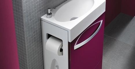 Les meubles pour WC spécial rangement | Espace Aubade | Scoop.it