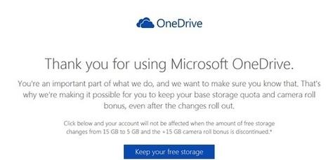 Vous voulez conserver 15 à 30 Go gratuits sur OneDrive ? Cliquez ici   Web 2.0 en bibliothèque...ou ailleurs !   Scoop.it