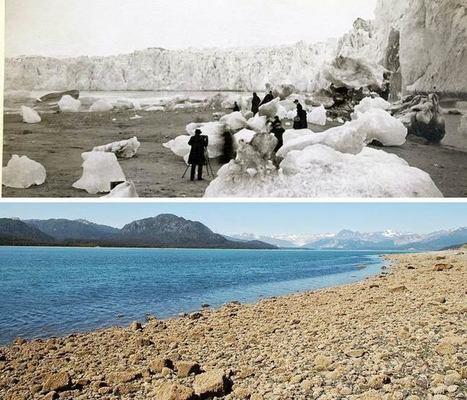 Le recul impressionnant des glaciers d'Alaska en seulement 100 ans | CRAKKS | Scoop.it