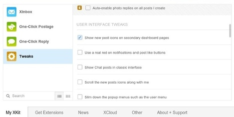 Become a Tumblr Power-User with XKit | Time to Learn | Scoop.it
