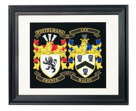 Embroidered Coat of Arms | Family Coat of Arms | $199 | Military Wives | Scoop.it