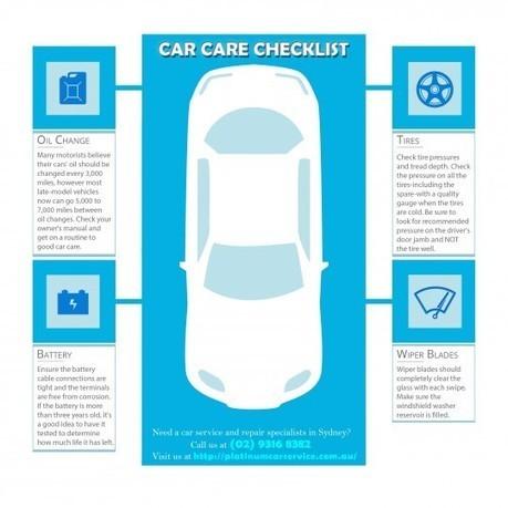 Car Care Checklist | Platinum Services | Scoop.it