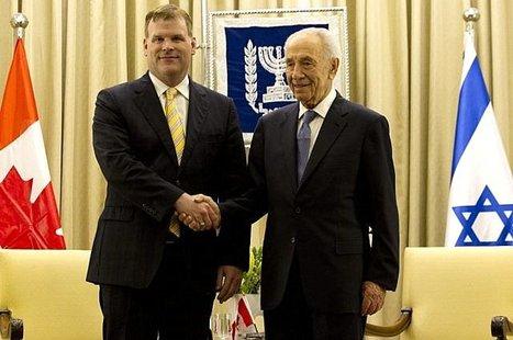 Les Palestiniens fustigent la visite de John Baird à Jérusalem-Est | Moyen-Orient | Politique fédérale-Canada | Scoop.it