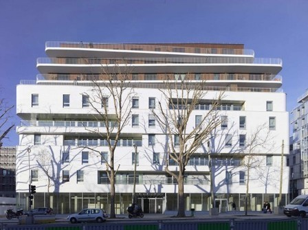 [Paris, France] Zac Claude Bernard Multifunctional Building / Atelier Zündel & Cristea | The Architecture of the City | Scoop.it