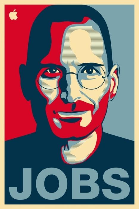 Fantastiques portraits de Steve Jobs (1955 – 2011) | freehand illustration and graphic design | Scoop.it