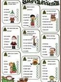 Christmas Quiz « My English Printable Worksheets | worksheets | Scoop.it