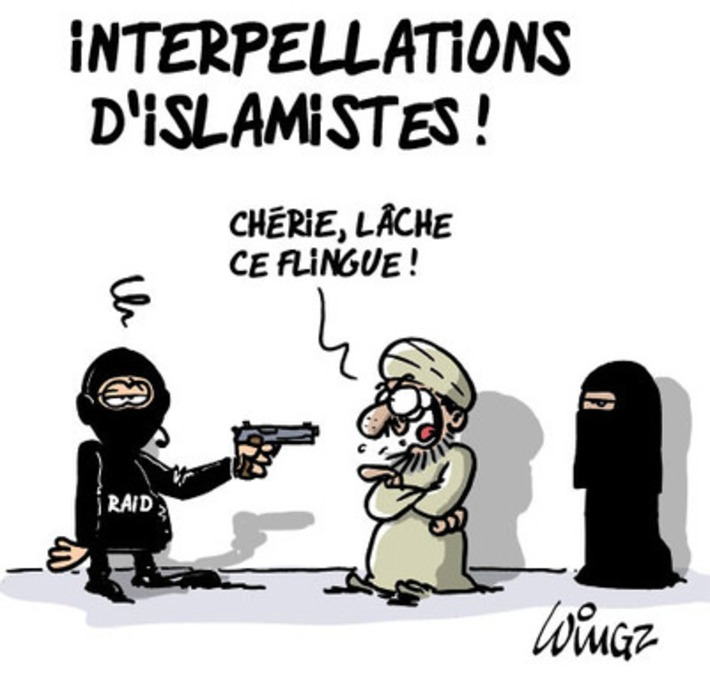 Interpellations dans les milieux islamistes | Baie d'humour | Scoop.it