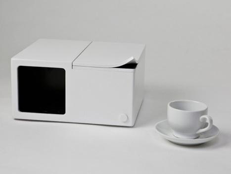 Single Cup Coffee Maker by Kay Heekyung Kim | Debbies Favorite Items | Scoop.it