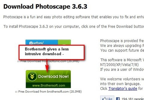 Photoscape : Free Photo Editing Software (Photo Editor) Download | Inclusive teaching and learning | Scoop.it