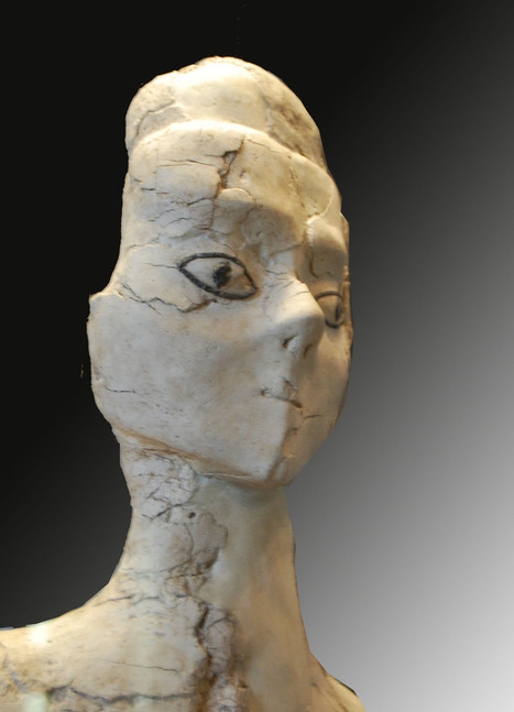 Neolithique - Sculptures Ain Ghazal | World Neolithic | Scoop.it