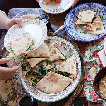 Umbrian Flat Bread Sandwiches (Torta al Testo) | SAVEUR | Todi&Umbria | Scoop.it