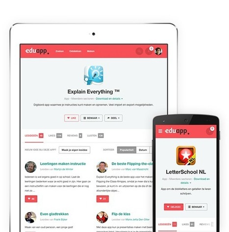 Digitaal lesmateriaal en educatieve apps vind, deel en ontdek je op Eduapp. | Zuyd2.0 | Scoop.it