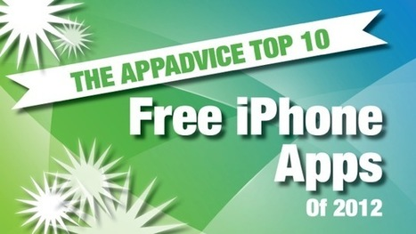 AppAdvice's Top 10 Best Free iPhone Apps Of 2012 -- AppAdvice   iPhone apps and resources   Scoop.it