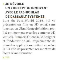 Concept Innovant au BaselWorld 2014, UBH MAGAZINE | FashionLab | Scoop.it