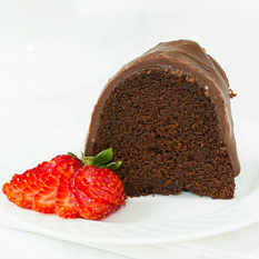 Chocolate Bundt Cake Recipe with Chocolate Fudge Icing | Brown ... | Exotic foods | Scoop.it