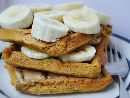 #HEALTHYRECIPE - Pumpkin Flax Waffles | sweet cooking | Scoop.it