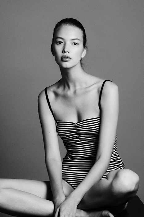 [focus on] Russian new face Katya 'Kid' Plotnikova | via Models.com | web | Scoop.it
