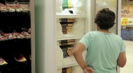 Whirlpool piège un supermarché brésilien pour promouvoir ses réfrigérateurs | streetmarketing | Scoop.it